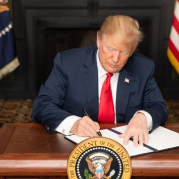 Trump Signs New Bill Into Law That Will Help Put Rapists Behind Bars