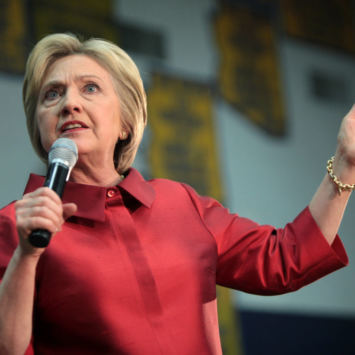 Hillary Clinton Attacks Trump Supporters Over Election Fraud