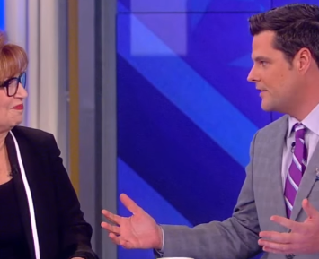 Gaetz Dominates During His Appearance On The View: They Didn't Stand A Chance