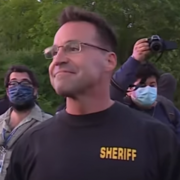 Michigan Sheriff Brings Peace To What Could Have Been A Violent Protest
