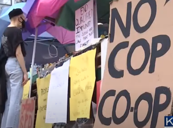 Seattle Protesters That Took Over 6 Blocks Practically Re-enact Lord Of The Flies