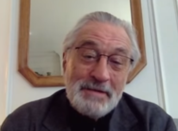President Hater De Niro Claims Trumpers Should Be Afraid.