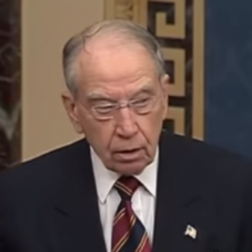 Sen. Grassley Calls Out Dems For Blatant Double Standard