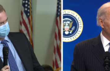 Biden Supporters Lash Out At Fox News Reporter For Asking Actual Question